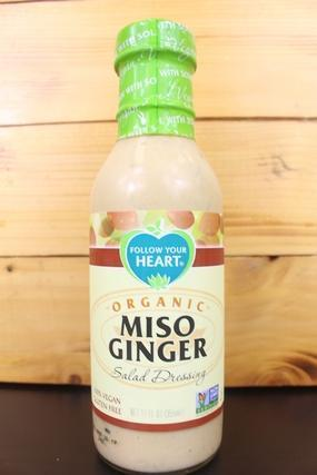 Follow Your Heart Organic Miso Ginger 12oz Pantry > Fresh Sauces, Condiments & Dressings