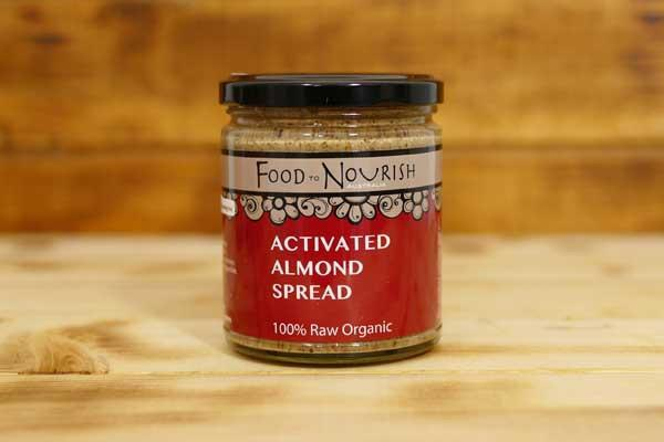 Food To Nourish Organic Activated Almond Spread 250g Pantry > Nut Butters, Honey & Jam