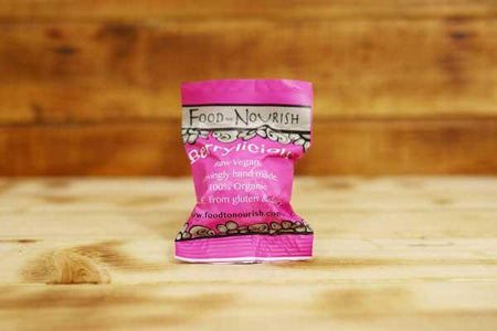 Food To Nourish Organic Berrylicious Bliss Ball 45g Pantry > Cookies, Chips & Snacks