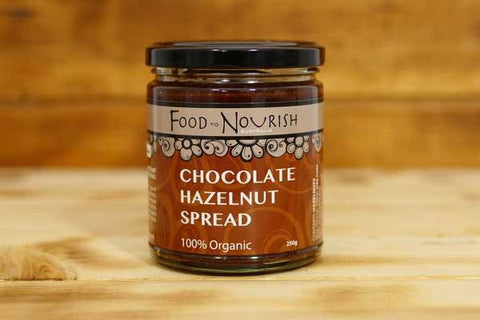 Food To Nourish Organic Chocolate Hazelnut Spread 250g Pantry > Nut Butters, Honey & Jam