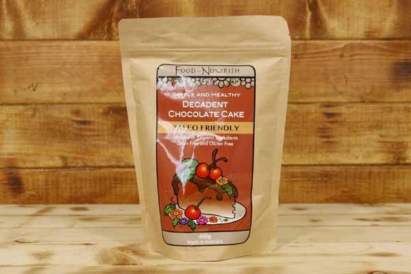 Food To Nourish Organic Decadent Chocolate Cake Mix 400g Pantry > Baking & Cooking Ingredients