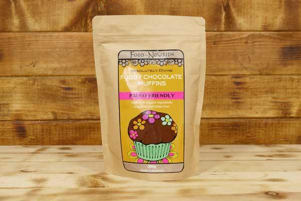 Food To Nourish Organic Fudgy Chocolate Muffin Mix 360g Pantry > Baking & Cooking Ingredients