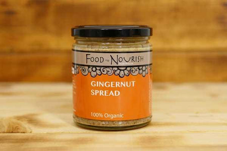 Food To Nourish Organic Gingernut Spread 250g Pantry > Condiments