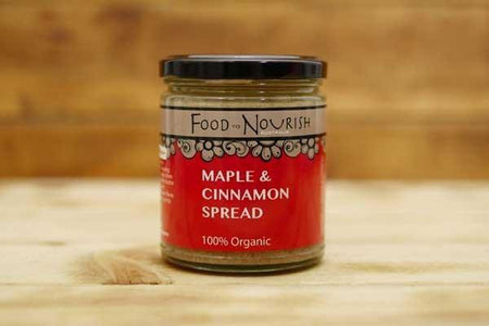 Food To Nourish Organic Maple & Cinnamon Spread 250g Pantry > Condiments