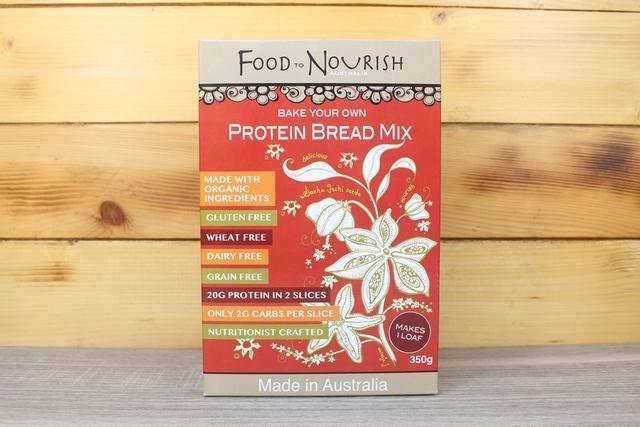 Food To Nourish Protein Bread Mix 350g Pantry > Baking & Cooking Ingredients