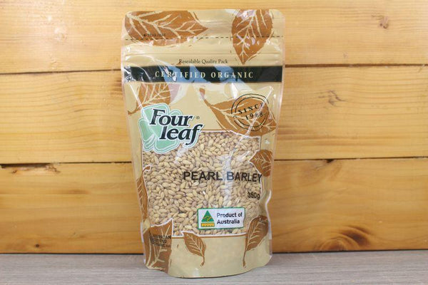 Four Leaf Grain Pearl Barley 350g Pantry > Grains, Rice & Beans