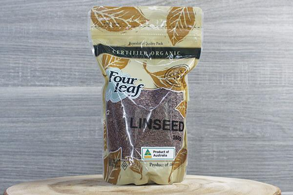 Four Leaf Organic Linseed 350g Pantry > Grains, Rice & Beans
