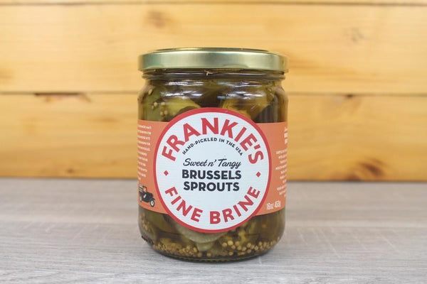 Frankie's Fine Brine Frankie's Brussels Sprouts 453g Pantry > Antipasto, Pickles & Olives