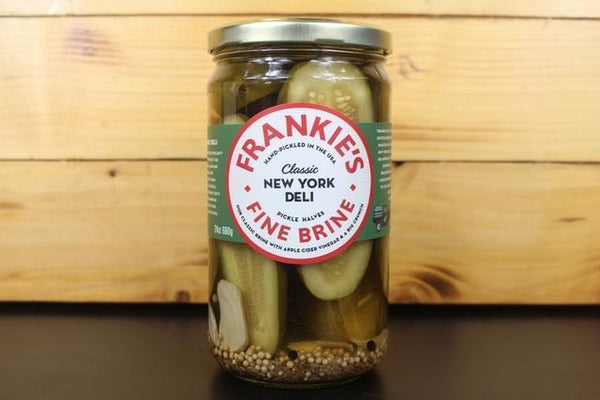 Frankie's Fine Brine NYC Deli Pickle 680g Pantry > Antipasto, Pickles & Olives