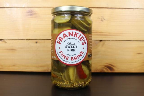 Frankie's Fine Brine Sweet Fire Pickle 680g Pantry > Antipasto, Pickles & Olives