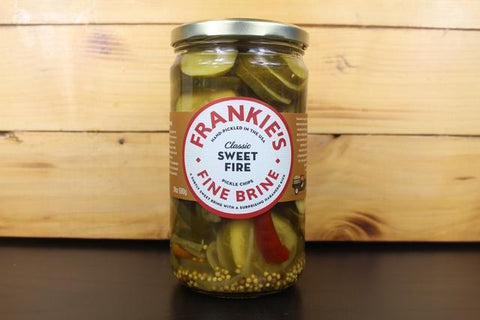 Spicy Maple Bourbon Pickle 475g