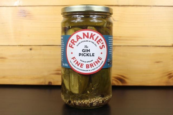 Frankie's Fine Brine The Gin Pickle 680g Pantry > Antipasto, Pickles & Olives