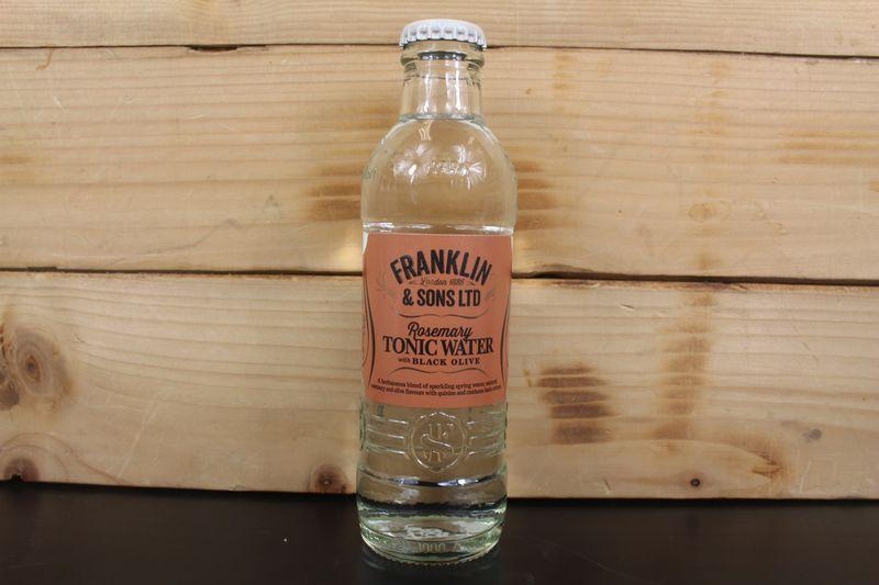 Franklin & Sons Rosemary & Olive Tonic 200ml Drinks > Soft Drinks & Mixers