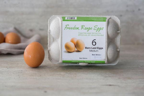 Fresh Cage Eggs (12 count)