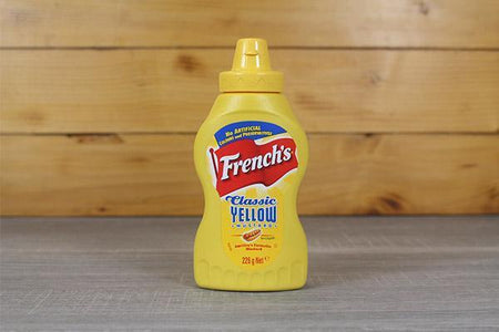 French's Classic Yellow Mustard 225ml Deli > Fresh Sauces, Condiments & Dressings