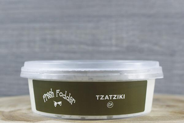 Fresh Fodder Greek Style Tzatziki 200g Deli > Fresh Dips & Salsas