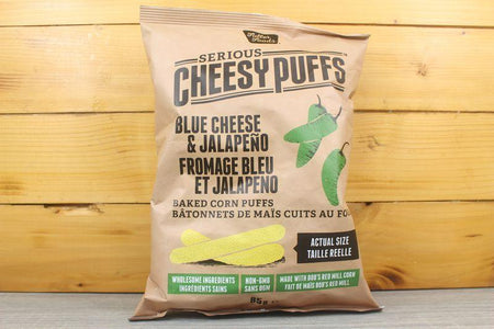 Fuller Foods Blue Cheese & Jalapeno Cheesy Puffs 85g Pantry > Chips & Savoury Snacks