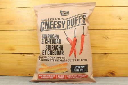 Fuller Foods Sriracha & Cheddar Cheesy Puffs 85g Pantry > Chips & Savoury Snacks