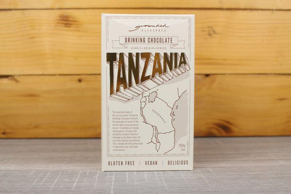 Gershgoods GP Tanzania Drinking Chocolate 200g Pantry > Drink Mixers & More