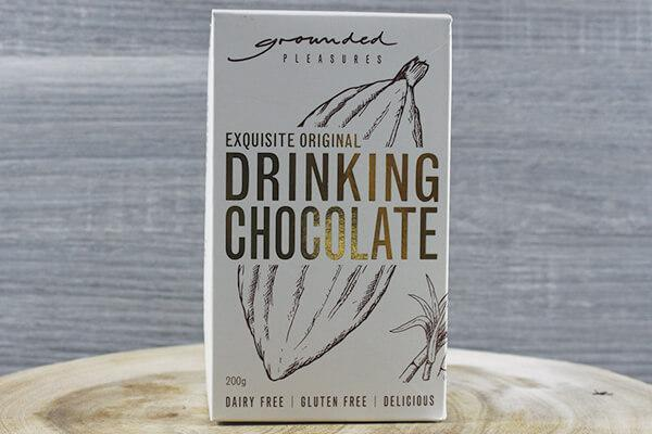 Gershgoods Grounded Pleasures Original Drinking Chocolate 200g Pantry > Drink Mixers & More