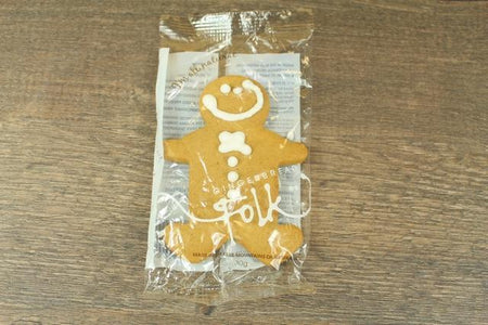 Gingerbread Folk Gingerbread Cookie 30g Pantry > Cookies, Chips & Snacks