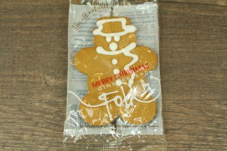 Gingerbread Folk Gingerbread Snow Men CDU Pantry > Biscuits, Crackers & Crispbreads