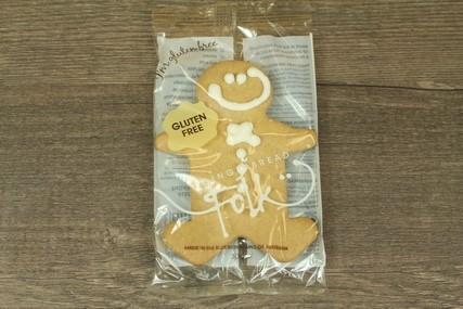Gingerbread Folk Gluten Free Gingerbread Cookie 30g Pantry > Cookies, Chips & Snacks