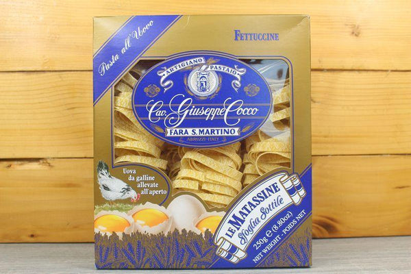 Giuseppe Cocco Fettuccine Uovo #14 250g Pantry > Pasta, Sauces & Noodles