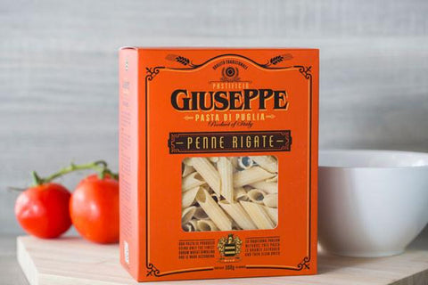 Giuseppe Penne Rigate 500g Pantry > Pasta, Sauces & Noodles