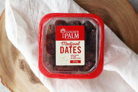 Golden Palm Medjool Dates 225g Pantry > Dried Fruit & Nuts