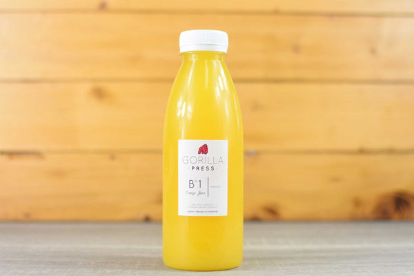 Gorilla Press Pure Orange Juice 500ml Drinks > Juice, Smoothies & More