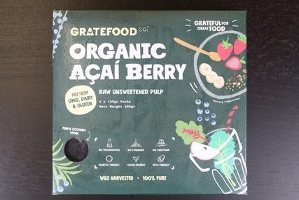 Organic Acai Berry Pasteurised Unsweetened