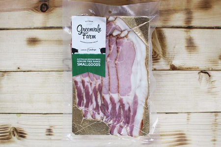 Greenvale Farm Sliced Bacon 250g Deli > Charcuterie