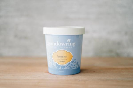 Gundowring Finest Ice Cream Banana Ice Cream 500ml Freezer > Ice Cream