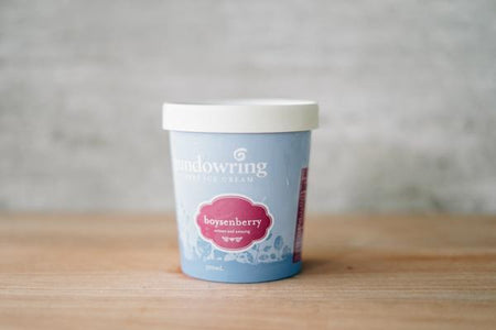 Gundowring Finest Ice Cream Boysenberry Ice Cream 500ml Freezer > Ice Cream