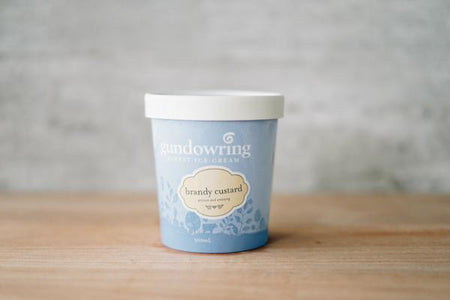Gundowring Finest Ice Cream Brandy Custard Ice Cream 500ml Freezer > Ice Cream