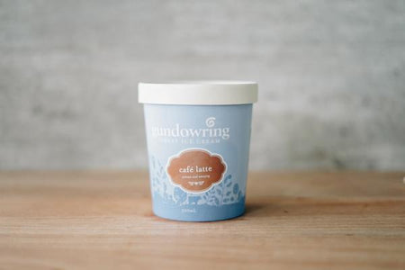 Gundowring Finest Ice Cream Café Latte Ice Cream 500ml Freezer > Ice Cream