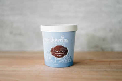 Gundowring Finest Ice Cream Chocolate Ice Cream 500ml Freezer > Ice Cream