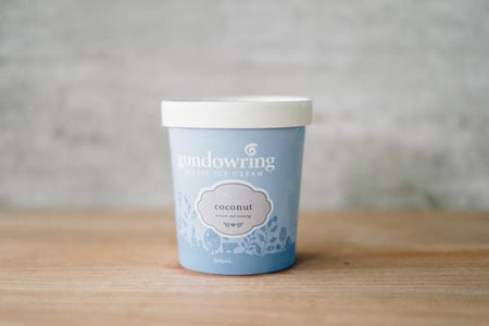 Gundowring Finest Ice Cream Coconut Ice Cream 500ml Freezer > Ice Cream