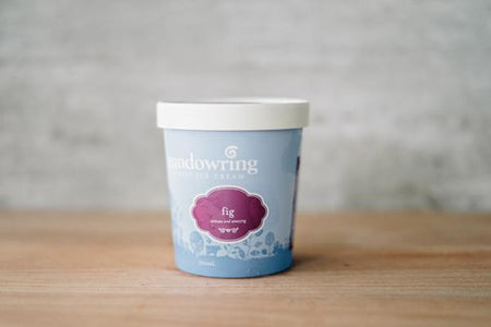 Gundowring Finest Ice Cream Fig Ice Cream 500ml Freezer > Ice Cream