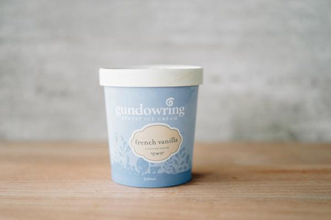 Gundowring Finest Ice Cream French Vanilla Ice Cream 500ml Freezer > Ice Cream