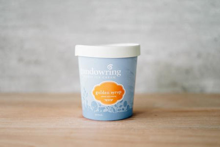 Gundowring Finest Ice Cream Golden Syrup Ice Cream 500ml Freezer > Ice Cream