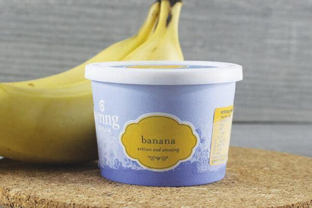 Gundowring Finest Ice Cream Gundowring Banana 100ml Freezer > Ice Cream
