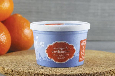 Gundowring Finest Ice Cream Gundowring Orange & Cardamom 100ml Freezer > Ice Cream