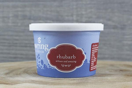 Gundowring Finest Ice Cream Gundowring Rhubarb 100ml Freezer > Ice Cream