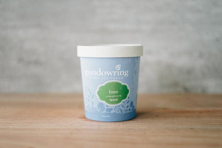 Gundowring Finest Ice Cream Lime Ice Cream 500ml Freezer > Ice Cream