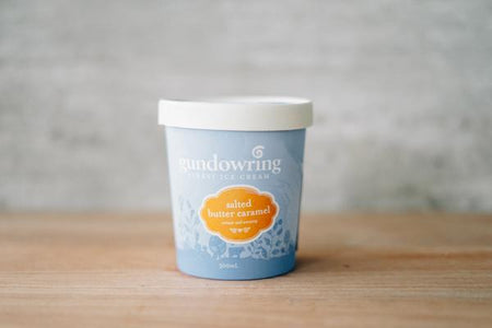 Gundowring Finest Ice Cream Salted Butter Caramel Ice Cream 500ml Freezer > Ice Cream