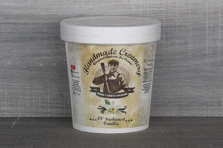 Handmade Creamery Old Fashion Vanilla Gelato 16oz Freezer > Ice Cream