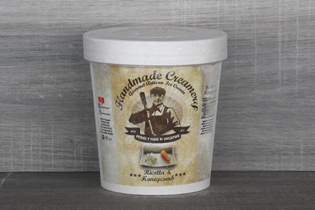 Handmade Creamery Ricotta Honey Comb Gelato 16oz Freezer > Ice Cream