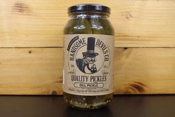 Handsome Devils Pickles Chipotle 500g Pantry > Antipasto, Pickles & Olives